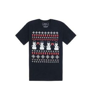Riot Society Ugly Snowman Graphic Tee ❄️ ⛄️